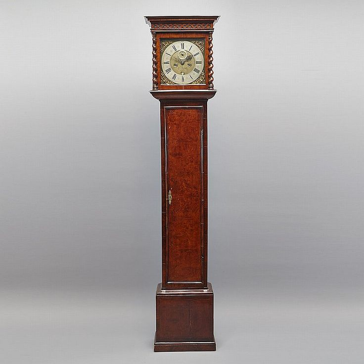 Inside vintage grandfather clocks