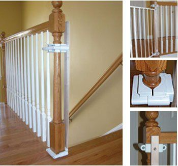 No Hole Stairway Baby Gate Mounting Kit By Safety « MyStoreHome.com – Stay At Home and Shop