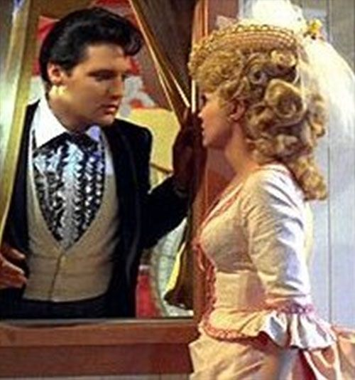 "Elvis movie: ""Frankie  & Johnny"" – United Artists, 1966            Co-Starred Donna  Douglas of ""Beverly Hillbillies"" TV fame"