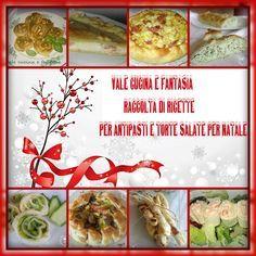 Raccolta di ricette antipasti e torte salate per Natale