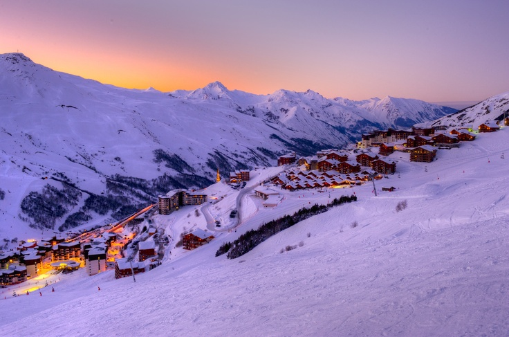 LES MENUIRES (FRENCH ALPS) - just stunning.