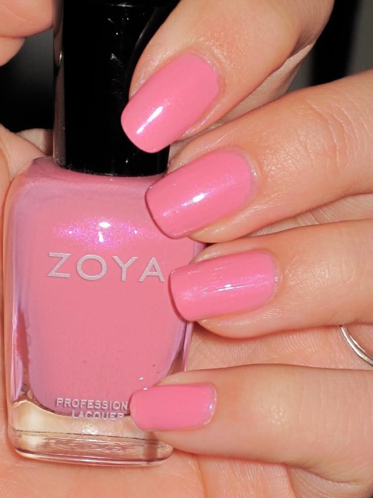 Zoya Barbie: Nails Mani Pedi, Nails Envi, Barbie Twists, Nails D, Barbie Pink, Nails Color, Nails Polish, Nails Baby, Hairs Nails