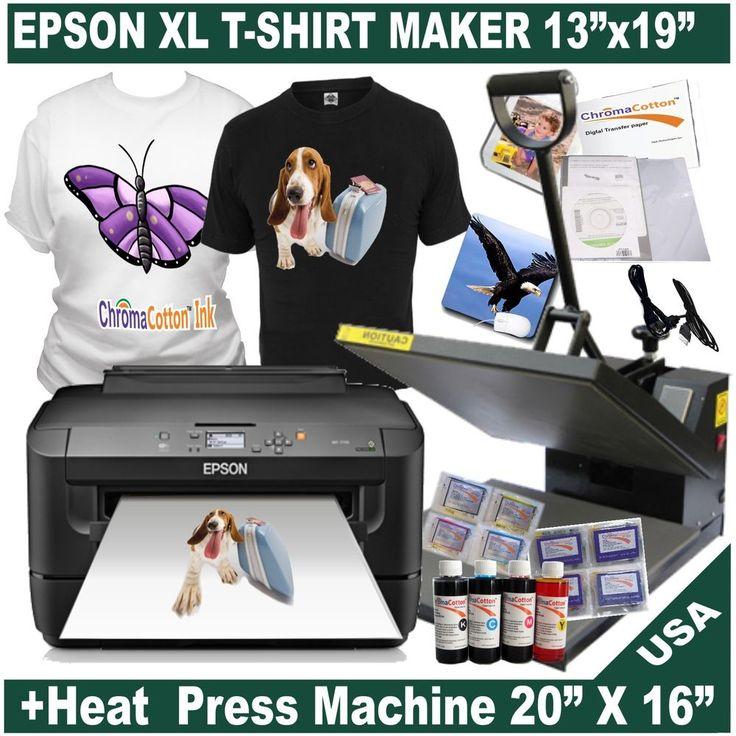 15 best t shirt making images on pinterest printers t for Epson t shirt printer