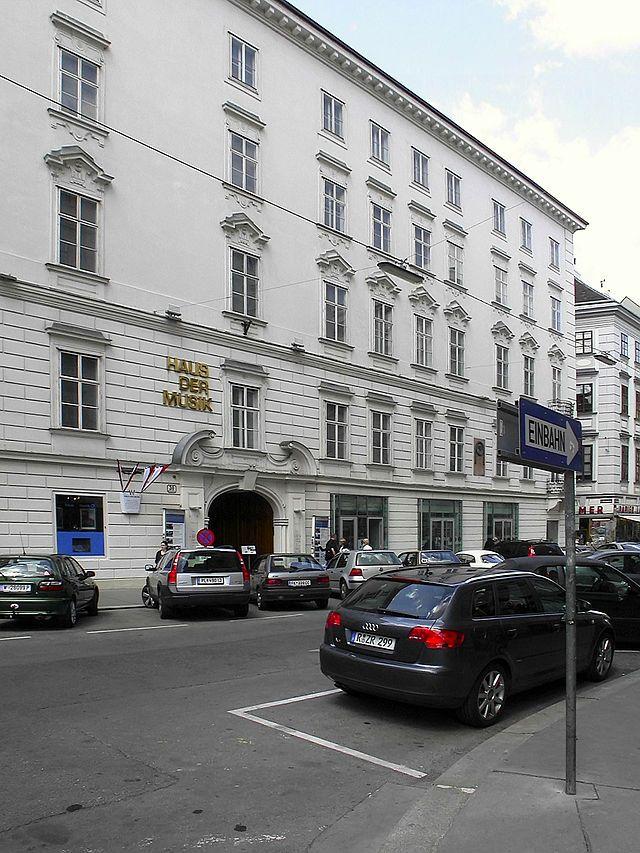 The Haus Der Musik (House Of Music) In Vienna