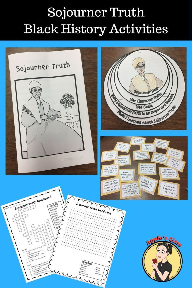 Sojourner Truth Reading Comprehension Sojourner Truth Black History Month Activities Sojourner Truth Activities [ 1102 x 735 Pixel ]