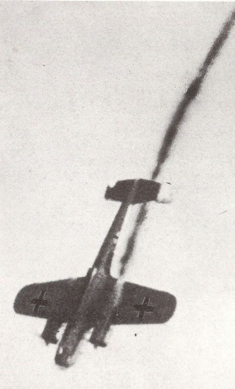 During the 'Battle of Britain' a shot down Dornier Do17