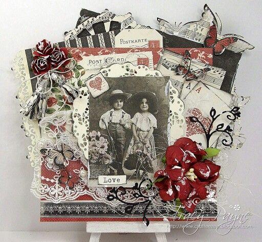 Noor!  Design vintage flourish
