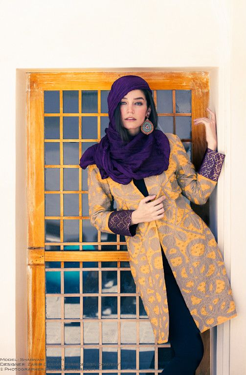 Persian fashion from Editorial In Iran by Afra Pourdad | #hijab #hijabi…