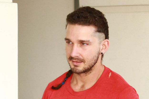 Shia Labeouf Has A Rattail Now - http://rumorscandalscoop.com/shia-labeouf-has-a-rattail-now/