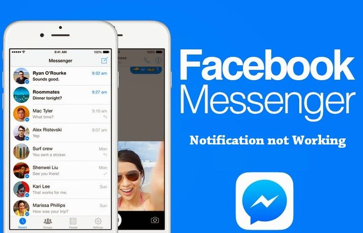 How To Fix Iphone Facebook Messenger Notification Not Working Facebook Messenger Facebook How To Use Facebook