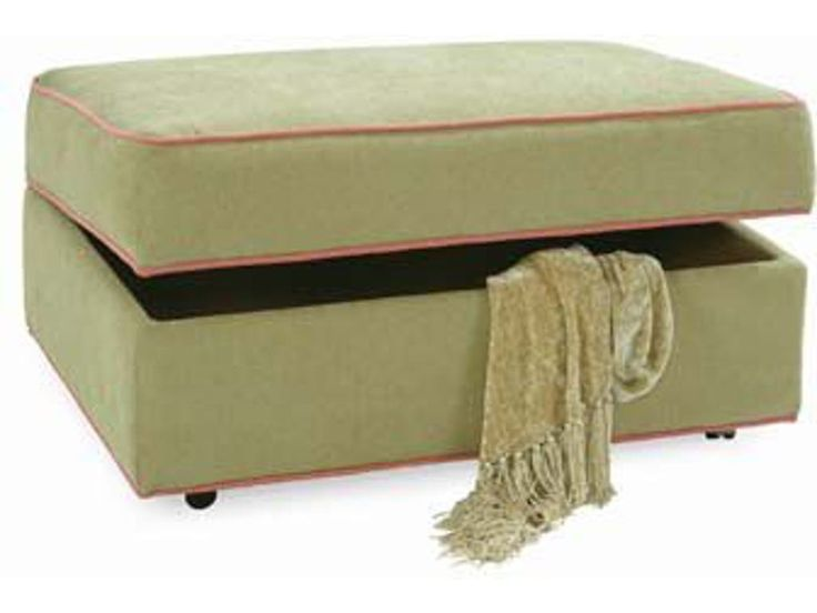 Storage Ottoman with Casters | Braxton Culler Furniture | Home Gallery Stores