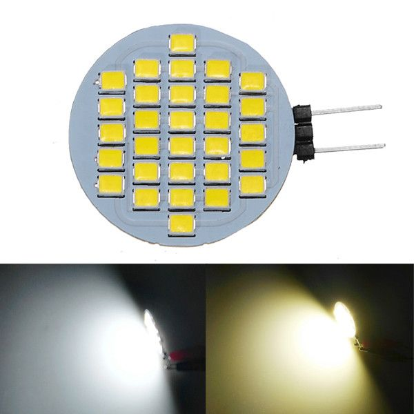 300LM 2.8W Car Yacht Boat Home Decoration 30SMD LED G4 Warm Pure White 2800K