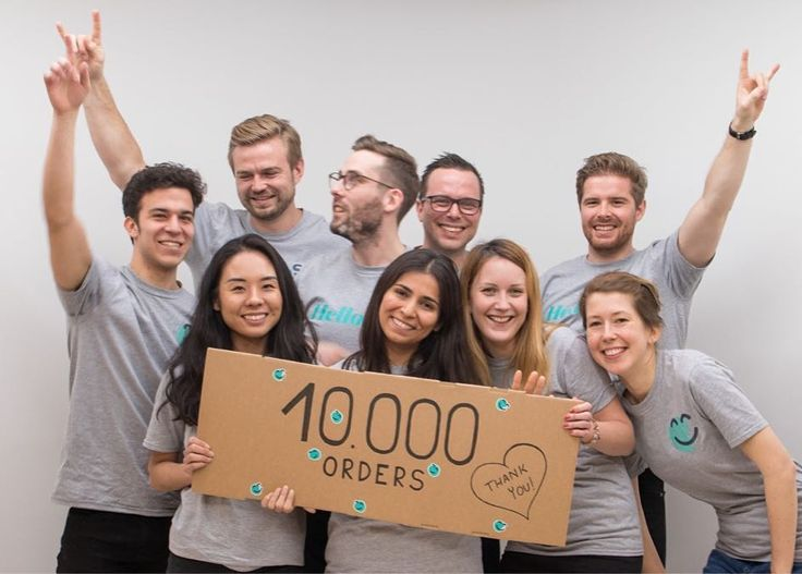 Weve just hit 10000 orders! Thanks to all our customers!  The HelloSkin Team