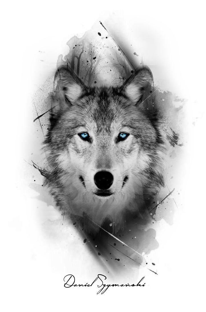 I Really Like The Color Only Being In The Eyes Today Pin Wolf Tattoos Men Wolf Tattoos Animal Tattoos