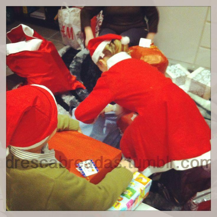 Pequeños ayudantes de Papá Noel