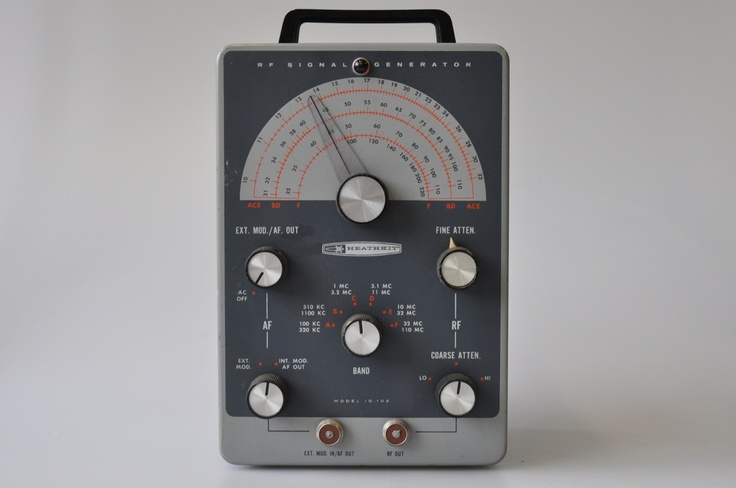 Heathkit Signal Generator : Heathkit signal generator test equipment pinterest