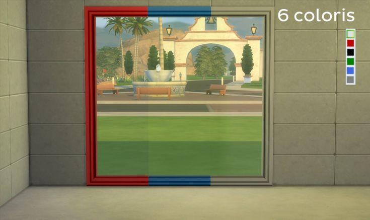Sims 4 Baie Vitrée Aurore