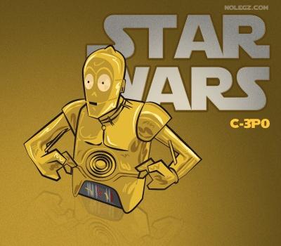 Star Wars by Nolegz.com - C3PO