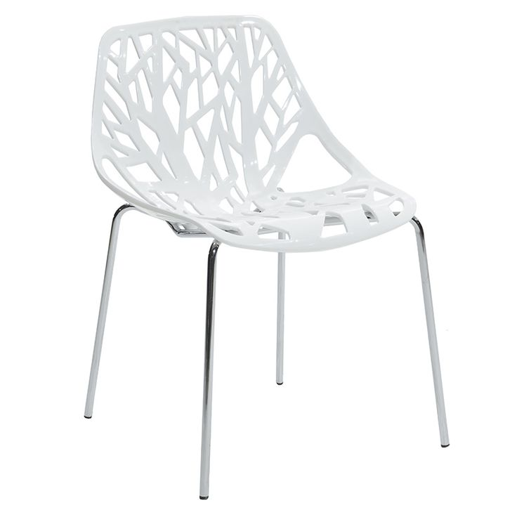 Propylene chair Mare white