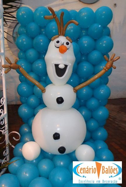 Best 25 globos de frozen ideas on pinterest - Decoracion con globos para cumpleanos ...