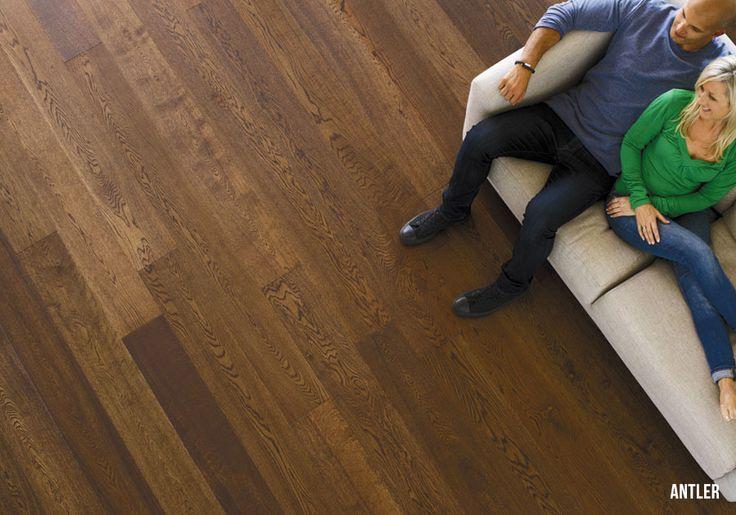 Heartridge Engineered Timber Flooring in Woodland Oak, Antler