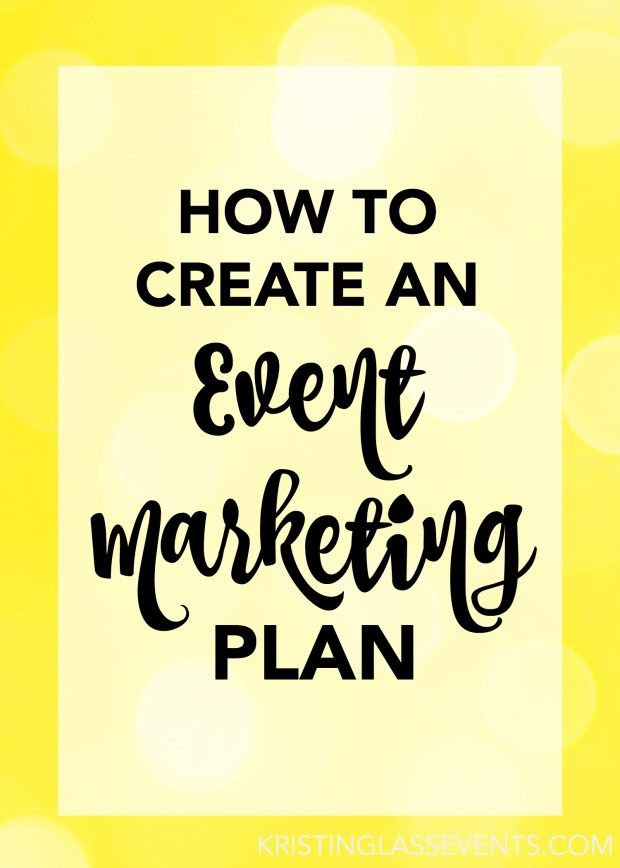 Event marketing involves strategy, and the ultimate way to implement any strategy is by coming up with a plan that will keep you organized, focused, and heading towards success. But creating an event marketing plan doesn't have to be difficult! Let me walk you through the steps to create a focused & organized plan!