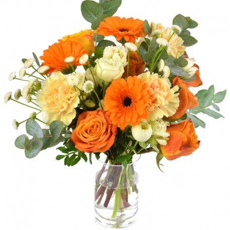 Pingl par sur bouquets ronds for Bouquet de fleurs khotba