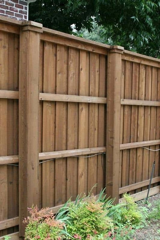 70+ DIY Fences Ideas You Can Do It at Home for The Weekend Project