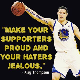 Klay Thompson Quote