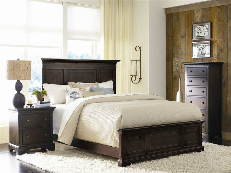 Traditional Oak Bedroom Set by American Drew: American Drew, Bedrooms Design, Bedrooms Sets, Panels Beds, Master Bedrooms, Bedrooms Furniture, Drew Ashby, Ashby Parks, Bedrooms Ideas