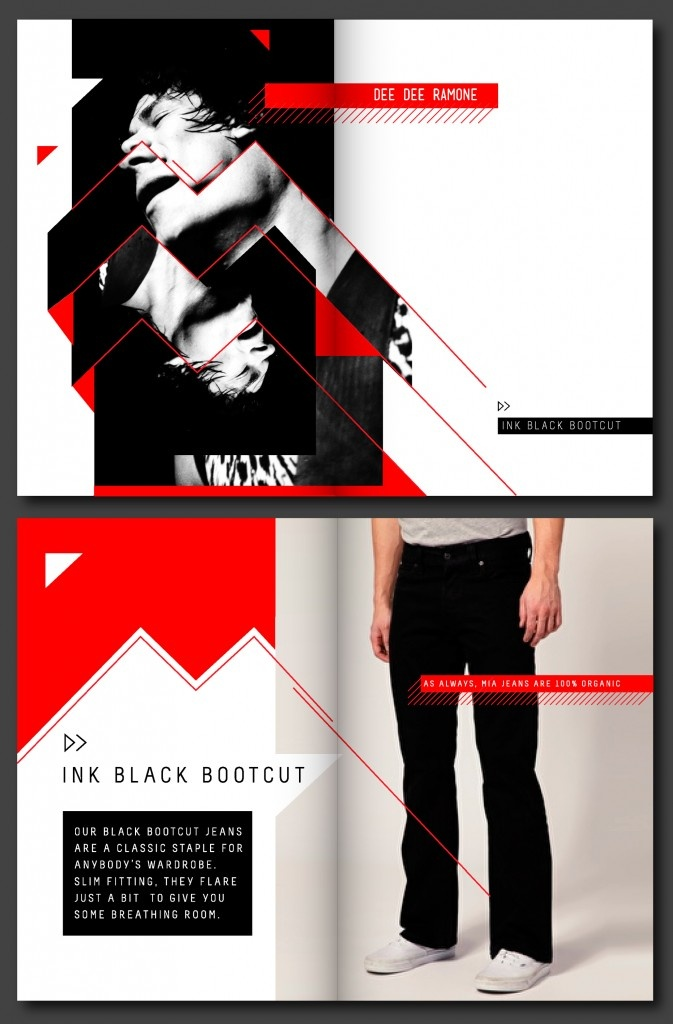 MIA Jeans branding