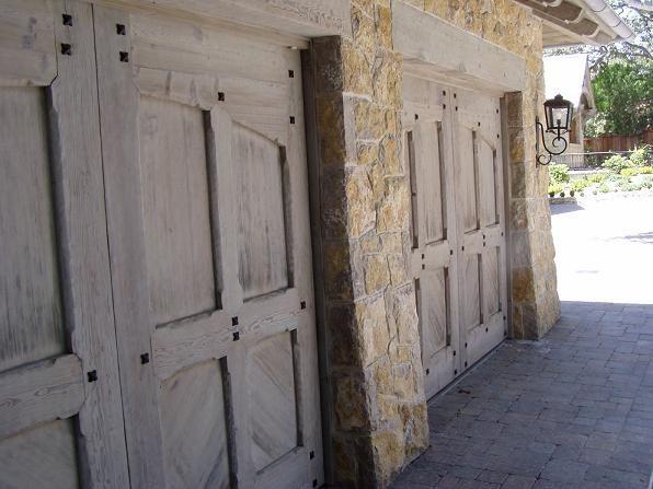 garage doors with stone double garage doors doors flip up and in when opened home