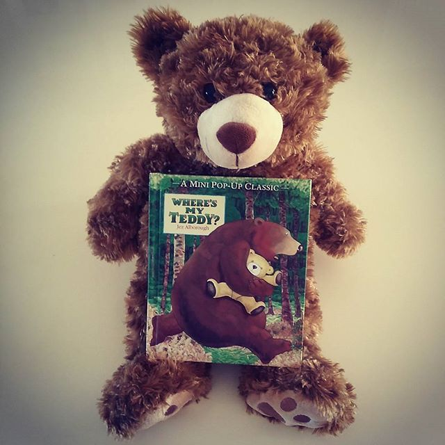 Possibly my favourite children's book ever. Jez Alborough's Where's My Teddy is simple but brilliant and we read it again and again.  #bookskidslove #picturebook #popupbook #childrensbook #teddybear #jezalborough #walkerbooks #toddlerbook #babybook