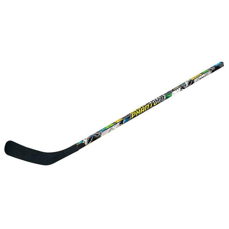 Franklin Sports NHL 1090 40-Inch Phantom Right Shot Street Hockey Stick, Multicolor