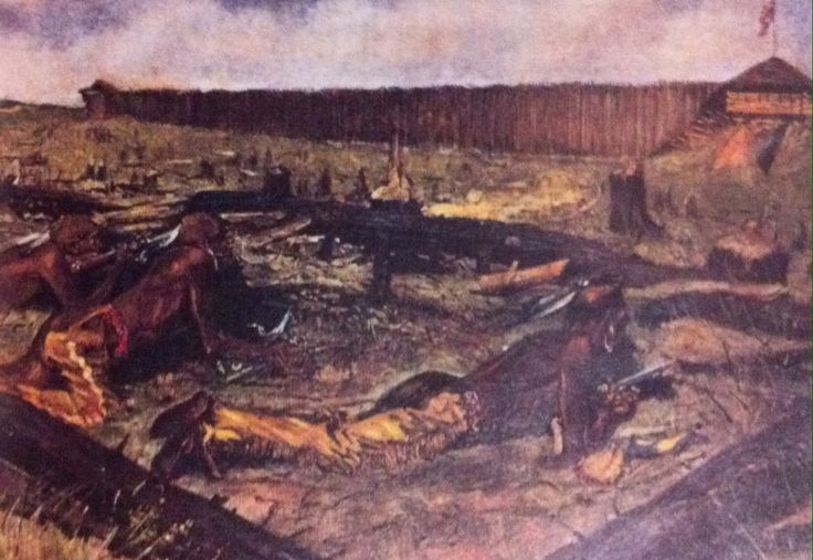 Pontiac's War- An attack led by Pontiac, an Ottawa chief who had fought on the side of the French, on British troops at Fort Detroit. It did not last long and ended in October 1763.