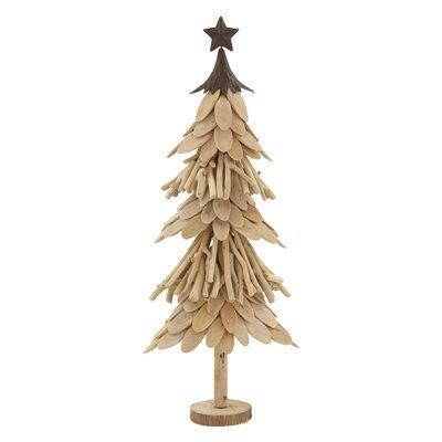 woodland imports 76679 elegant wood metal christmas tree - Metal Christmas Trees