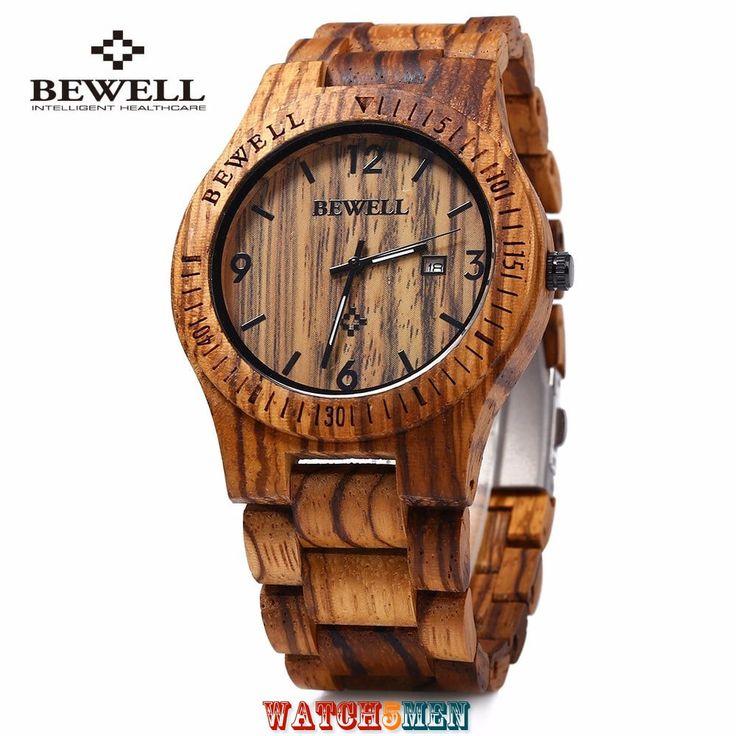 Наручные+часы+Bewell+Zebra+Wood+ZS+WO086B