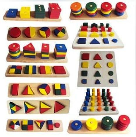 pomoce sensoryczne kombinacji kształtów