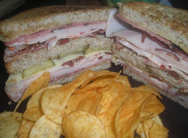 Classic turkey club sandwich | FOOD: My homemade sandwiches, subs, bu ...