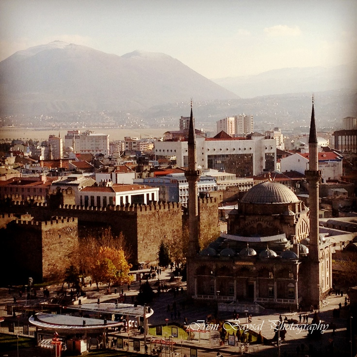 Kayseri in Turkey, my city, come and see Turkey