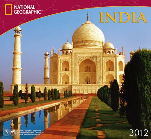 India Wall Calendar: Here is my new calendar for 2012!  #Calendar #India #nationalgeographic