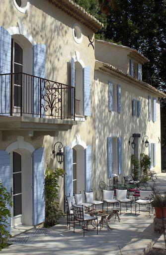 Les Platanes, Luberon, Provence.