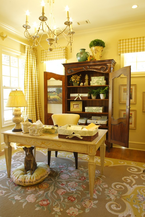 French Country Decor Yellow