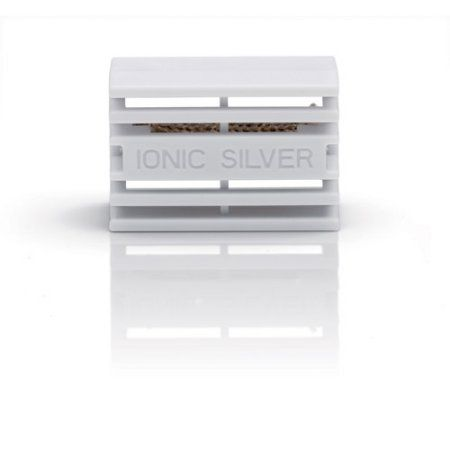 Stadler Form Ionic Silver Cube, Gray