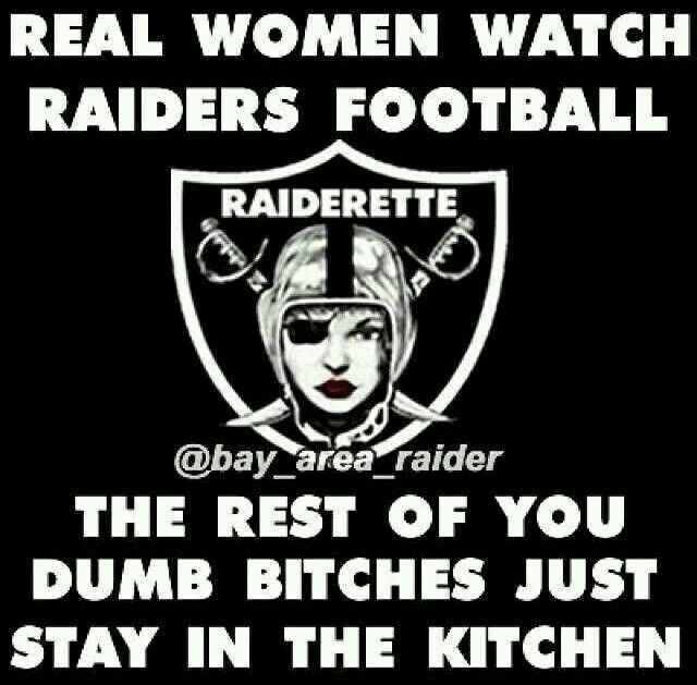Pissing on the raiders