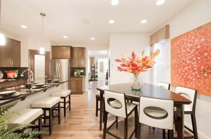 Laurier II in Redstone by Broadview Homes. Click here for more #decorating & #decor ideas: http://www.broadviewhomes.com/calgary/photo-gallery #kitchen