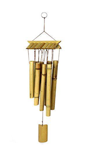 Cool Klangspiel Windspiel Bambus Klangr hren FengShui Gl cksbringer Nr