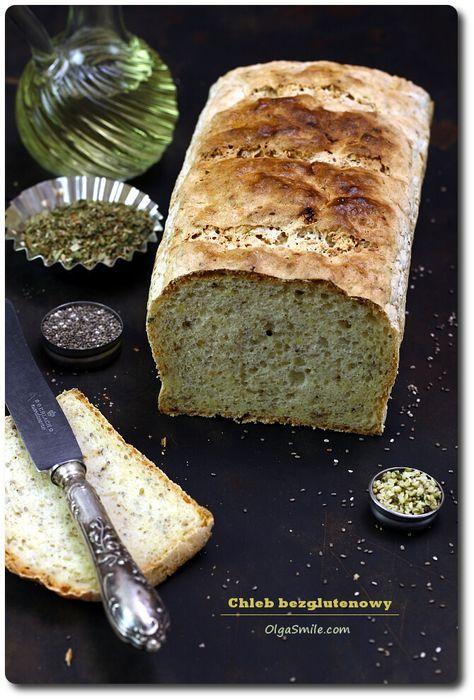 Chleb bezglutnowy - przepis Olgi Smile