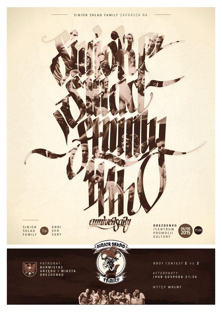 Break dance event poster