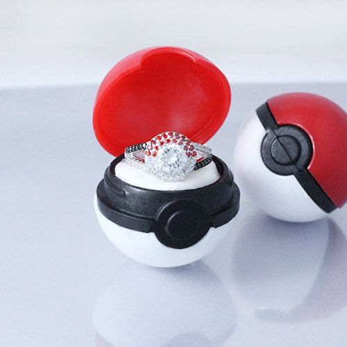 Pokemon ring box as seen on @offbeatbride
